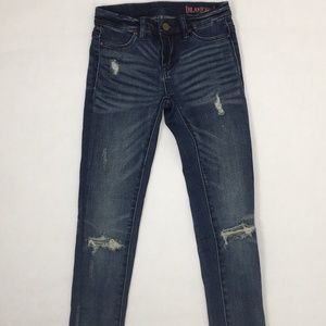 Blank NYC Girls Skinny Distressed Jeans * size 8